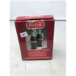 Coke Salt and Pepper Shakers