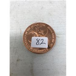 .999 Pure Copper Zombie Coin Walker (Rare)
