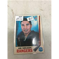 TOPPS 69-70 #35 JIM NEILSON (SHARP CORNERS)