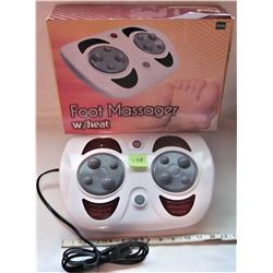 BOXED FOOT MASSAGER ELECTRIC HEAT