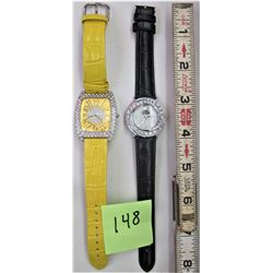 2 BLING WATCHES