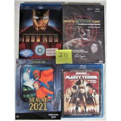 LOT OF 4 DVD MOVIES