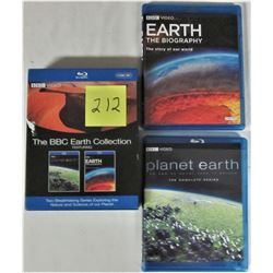 2008 BBC EARTH COLLECTION - 6 DVD SET