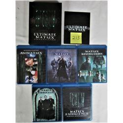 ULTIMATE MATRIX EXPERIENCE LOT 6 DVD BLU RAY MOVIES