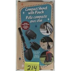 NEW 3 IN 1 COMPACT SHOVEL / POUCH KIT CAMPING/HUNTING
