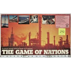 1973 WADDINGTONS GAME OF NATIONS POLITICAL STRATEGY BOARD GAME