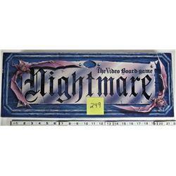 1991 NIGHTMARE CHIEFTAN VHS VIDEO BOARD GAME