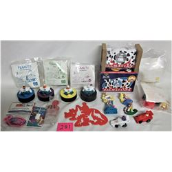 MIXED LOT MCDONALDS COLLECTIBLES HAPPY MEAL TOYS