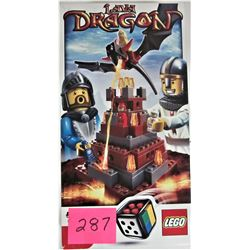 2010 LEGO GAME #3838 LAVA DRAGON BOXED / INSTRUCTIONS