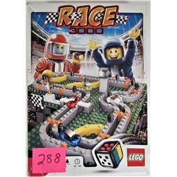 2010 LEGO GAME #3839 RACE 3000 BOXES / INSTRUCTIONS