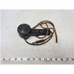 WWII BRITISH HAND MICROPHONE NO. C3