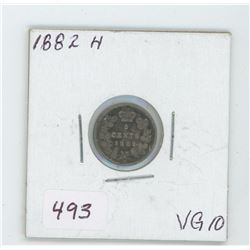 1882 Canada 5 Cent Coin