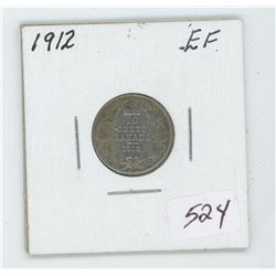 1912 Canada 10 Cent Coin
