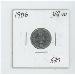 1906 Canada 10 Cent Coin
