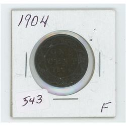 1904 Canada One Cent Coin