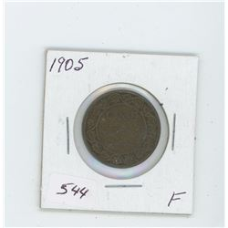 1905 Canada One Cent Coin