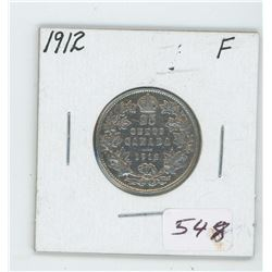 1912 Canada 25 Cent Coin