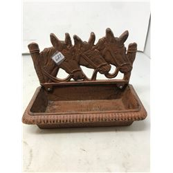 Iron Horsehead Tray
