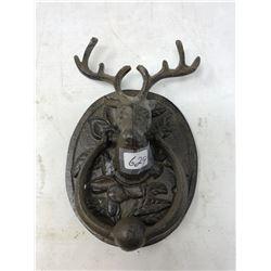 Iron Elk Door Knocker