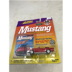 Johnny Lightning 1964 1/2 Mustang Convertible and Card