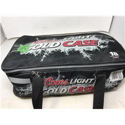 """Coors Light Silver Bullet Cold Case"" and Various Hats"