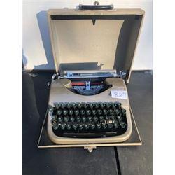 Collegian 1958 Typewriter with case