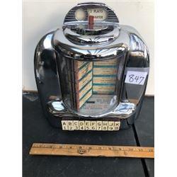 3W1 wall selector box circa 1948-1949