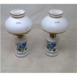 Pair Perfume Lamps