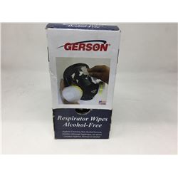 Gerson Respirator Wipes-Alcohol Free