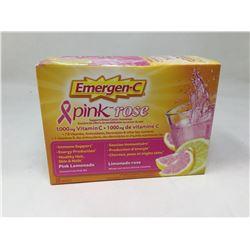 Emergen-C Pink Rose Vitamin C Drink Powder (30 sachets)