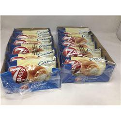 Lot of 7 Days Vanilla Filled Croissants (2 x 6 x 75g)