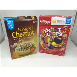 Lot of Cereal