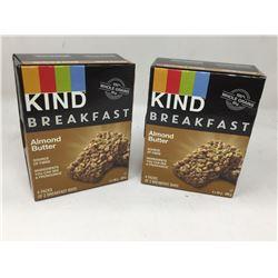 Kind Breakfast Almond Butter Bars (2 x 4 x 50g)