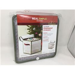 Real Simple 64 Count Ornament Storage