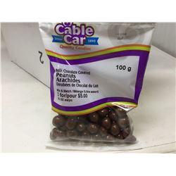 Cable Car Milk Chocolate Covered Peanuts (12 x 100g)