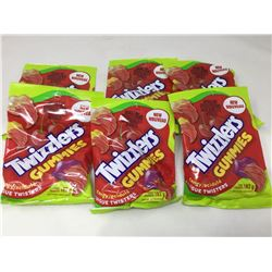 Twizzlers Gummies Tangy Tongue Twisters (6 x 182g)