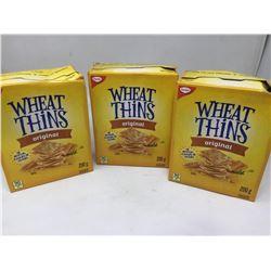 Christie Wheat Thins Original (3 x 200g)