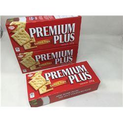 Premium Plus Salted Top Crackers (3 x 225g)