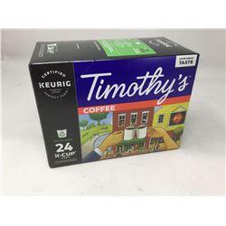 Timothy's Coffee (24 kCups)