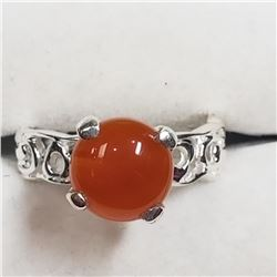 Sterling Silver Carnilean Ring (~Size 7), Suggested Retail Value $140