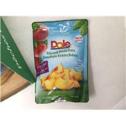 Dole Sliced Peaches Resealable Fridge Pack (382ml x 8)