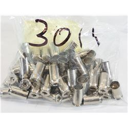 "50 Pieces of New ""RP"" Nickel-Plated 45 ACP Brass"