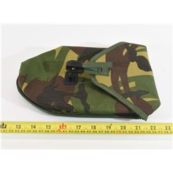 Camo Pattern Shovel Case with Alice Clips