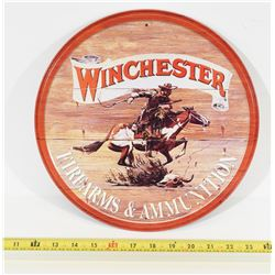 Winchester Firearms and Ammunition Round Sign