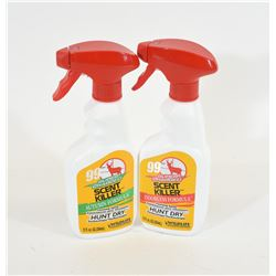 2 Scent Killer 120z Spray Bottles