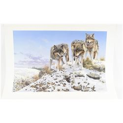 Wolf Print BY Seery-Lester