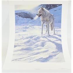 Wolf Print By Seerey-Lester