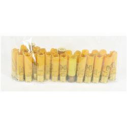 25 Pieces of  Assorted 20ga Shotgun Hulls