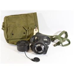 Canadian Army C3 Gas Mask