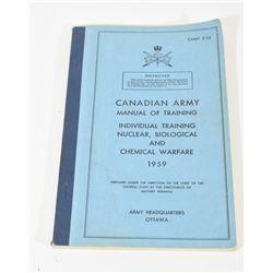 Canadian Army Training Manual